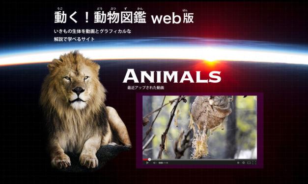 動く!動物図鑑WEB版を制作!